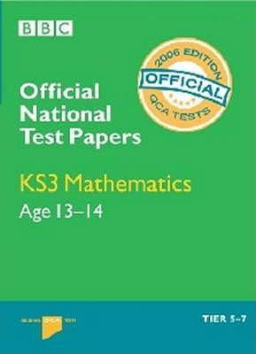 NATIONAL TEST PAPERS KS3 MATHS 2006 (QCA)