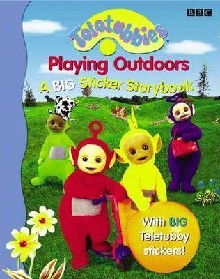 """Teletubbies"": Playing Outdoors - A Big Sticker Storybook"