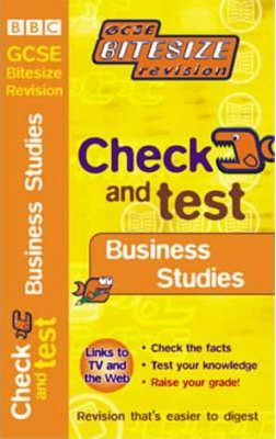 Check and Test Business Studies