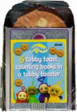 """Teletubbies"": Teletubbies Number Board Book - Five Tubby Toast Counting Books"