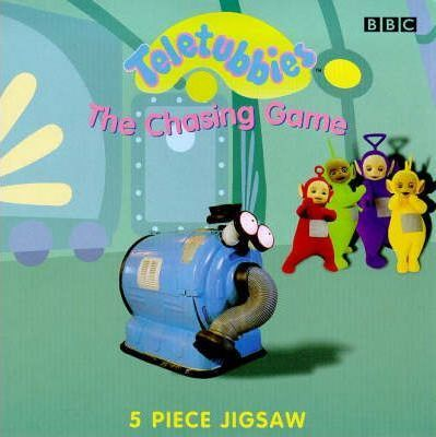 """Teletubbies"": The Chasing Game - Jigsaw Board Book"