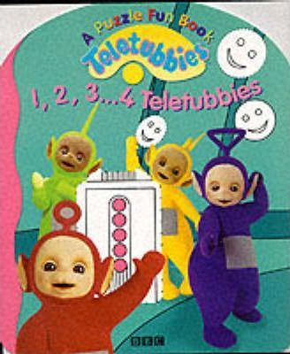"""Teletubbies"": 1, 2, 3, 4 Teletubbies - A Puzzle Fun Book"