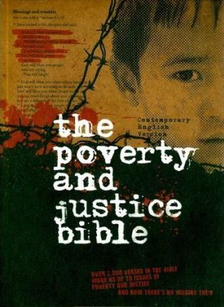 Poverty and Justice Bible-CEV