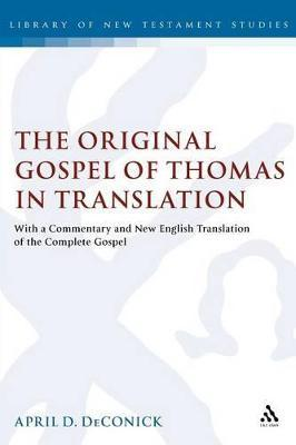 GOSPEL OF THOMAS COMMENTARY PDF DOWNLOAD