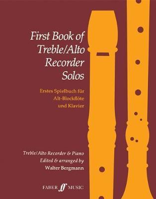 First Book Treble/Alto Recorder Solos