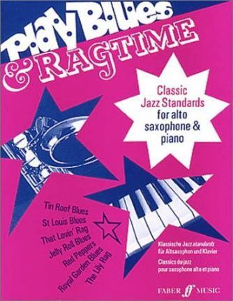 Play Blues and Ragtime Alto Sax and Piano