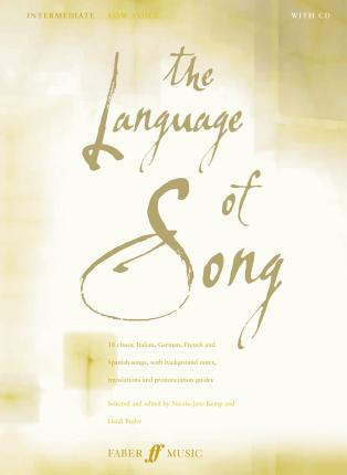 The Language Of Song: Intermediate (Low Voice)