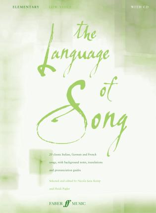 The Language Of Song: Elementary (Low Voice)