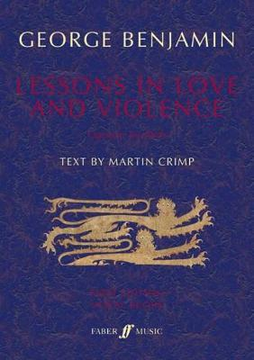 Lessons in Love and Violence (Vocal Score)