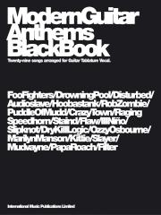 Modern Guitar Anthems: Black Book