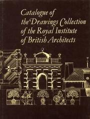 Drawings Collection of the Royal Institute of British Architects: v. G-K