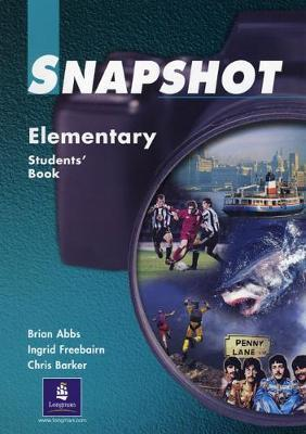 Snapshot Elementary Students Book