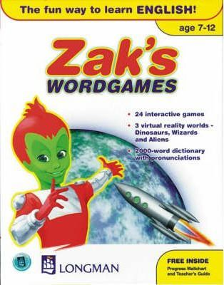 Zak's Wordgames: British English - CD-Rom