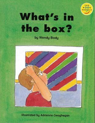 What's In The Box? Set of 6 Paper