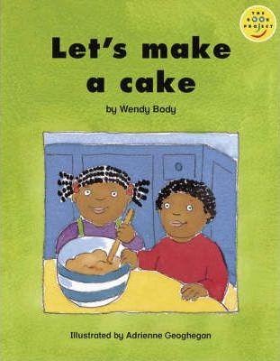 Let's make a cake Set of 6 Paper