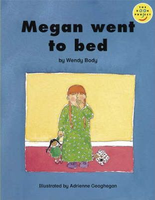 Longman Book Project: Beginner Level 3: Our Play Cluster: Megan Went to Bed: Pack of 6