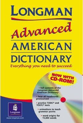 Longman Advanced American Dictionary Flexi Edition and CD-ROM