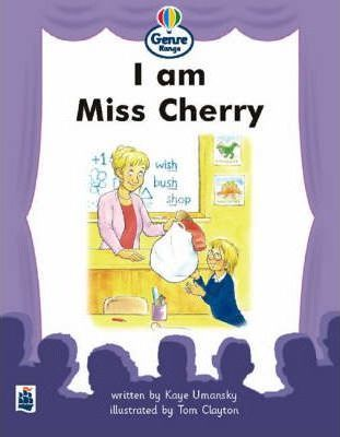 Genre Range: Beginner Readers: I am Miss Cherry Large Format Book