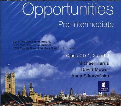 Opportunities Pre-intermediate: Opportunities Pre-Intermediate Global Class CD 1-3 Global 1-3