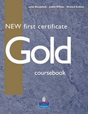 New First Certificate Gold Course Book