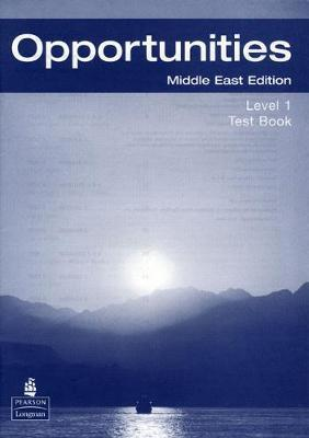 Opportunities 1 (Arab-World) Test Book