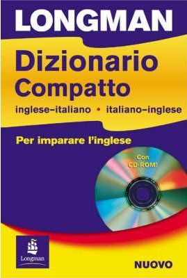 Longman Dizionario Compatto English-Italian Secondary Beginner/Intermediate Dictionary and CD-ROM Pack