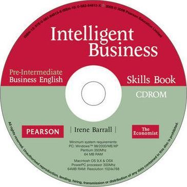 Intelligent Business: Pre-intermediate Skills Book for Pack