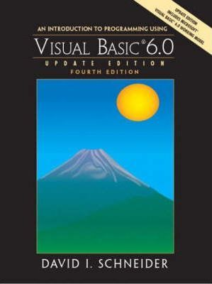 Multi Pack:Introduction to Programming with Visual Basic 6.0, Update Edition