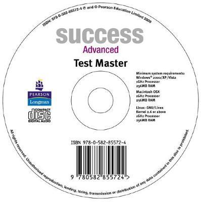 Success Advanced Test Master CD-ROM for Pack