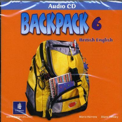 Backpack Level 6 Students CD