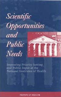 Scientific Opportunities and Public Needs