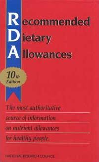 Recommended Dietary Allowances
