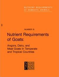 Nutrient Requirements of Goats