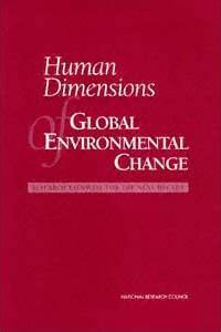 Human Dimensions of Global Environmental Change