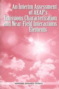 An Interim Assessment of Aeap's Emissions Characterization and Near-Field Interactions Elements