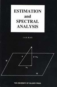 Estimation and Spectral Analysis