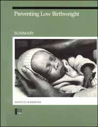 Preventing Low Birthweight