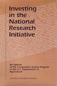 Investing in the National Research Initiative