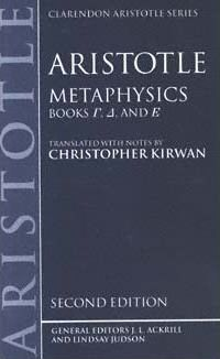 "Aristotle's ""Metaphysics"", Books [Gamma], [Delta], and [Epsilon]"