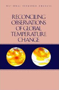 Reconciling Observations of Global Temperature Change