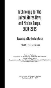 Technology for the United States Navy and Marine Corps 2000-2035