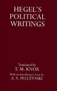 Hegel's Political Writings