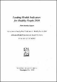 Leading Health Indicators for Healthy People 2010