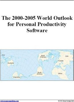 The 2000-2005 World Outlook for Personal Productivity Software