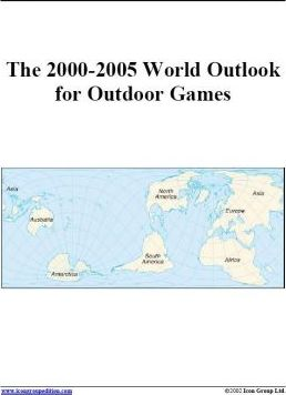 The 2000-2005 World Outlook for Outdoor Games