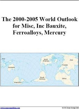 The 2000-2005 World Outlook for Misc, Inc Bauxite, Ferroalloys, Mercury
