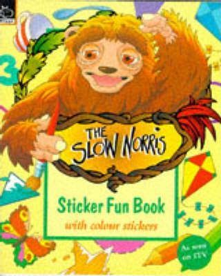 Slow Norris: Sticker Fun Book