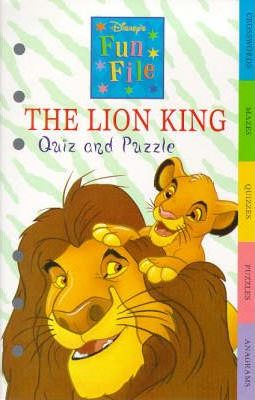 The Lion King Quiz and Puzzle