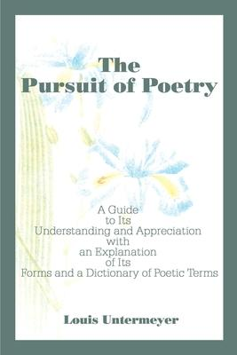 Get e-book The Pursuit of Poetry