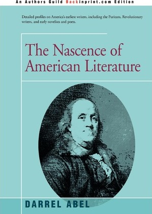 The Nascence of American Literature